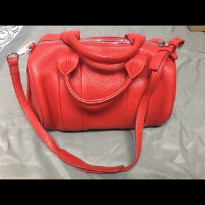 Alexander Wang Rocco duffel bag in red leather
